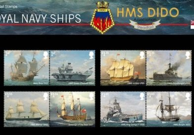 Royal Mail to celebrate 500 years of the Royal Navy in Stamps